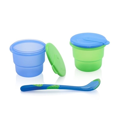 Picture of Storage Bowls with Feeding Spoon