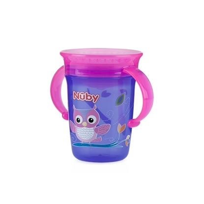 Picture of No-Spill™ 360° Wonder Cup™ Twin Handle Cup 240ml